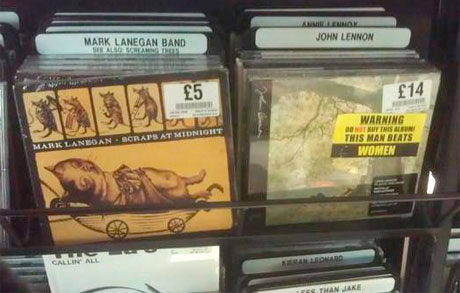 Feminist Group Responsible for Defacing Chris Brown Albums Speaks Out, Targets John Lennon