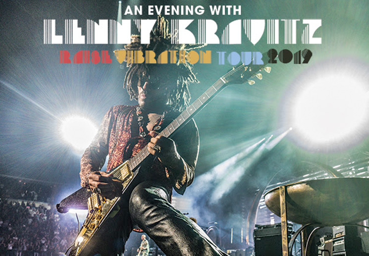Lenny Kravitz Hits Canada on North American Summer Tour