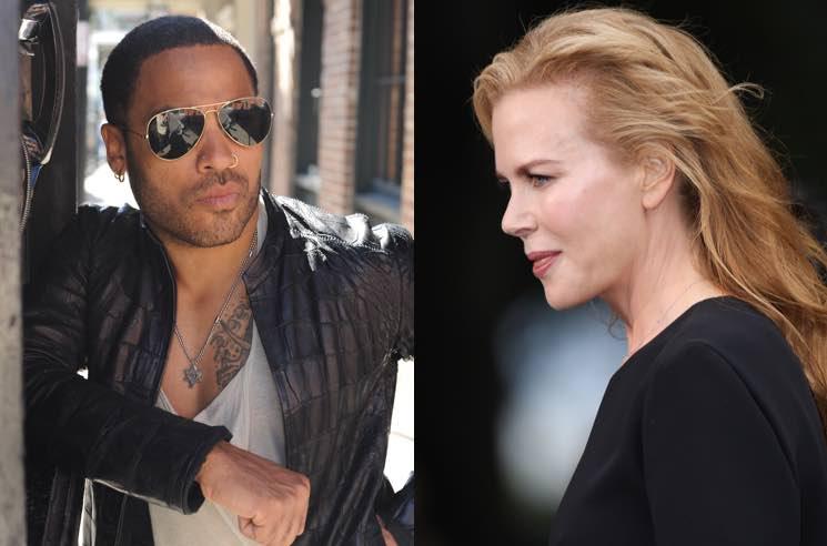 Nicole Kidman and Lenny Kravitz Were Apparently Engaged