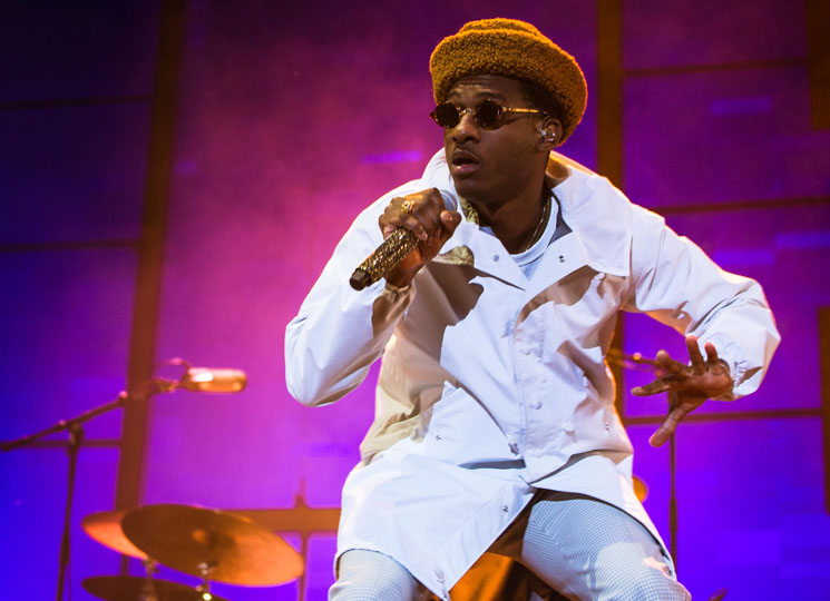 Leon Bridges Echo Beach, Toronto ON, September 27