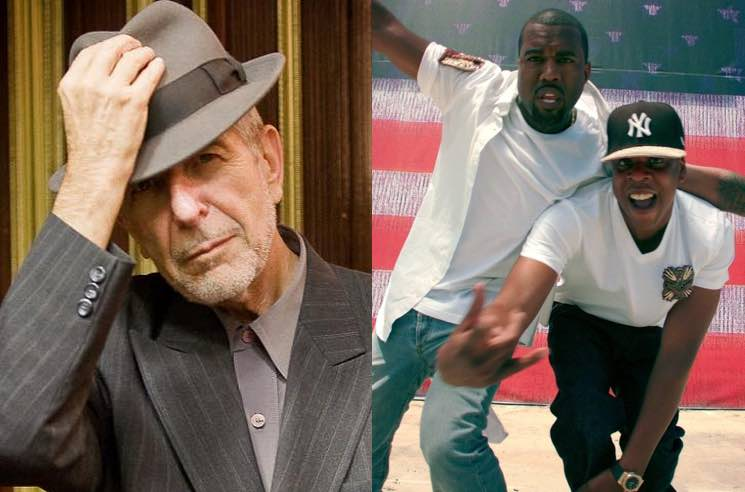 Leonard Cohen Disses Kanye West and JAY-Z in New Poem
