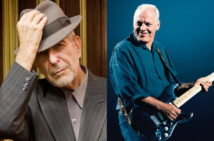 Watch David Gilmour Cover Two Leonard Cohen Songs