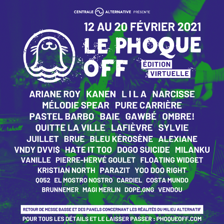 Le Phoque OFF Announces 2021 Virtual Edition