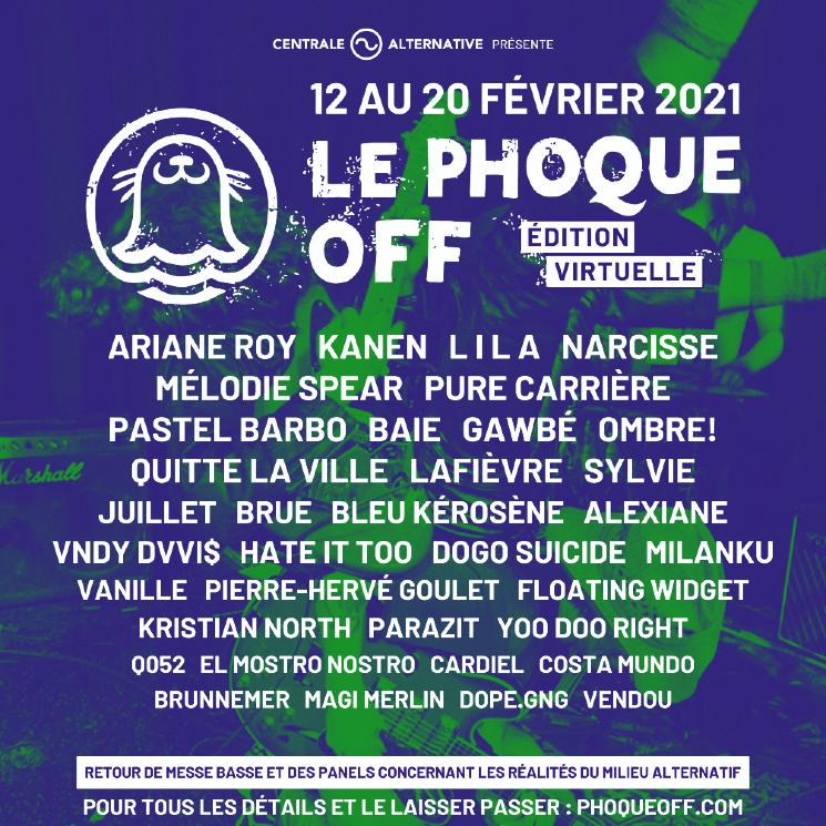 Le Phoque OFF Announces 2021 Virtual Edition