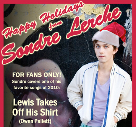 "Sondre Lerche ""Lewis Takes Off His Shirt"" (Owen Pallett cover)"