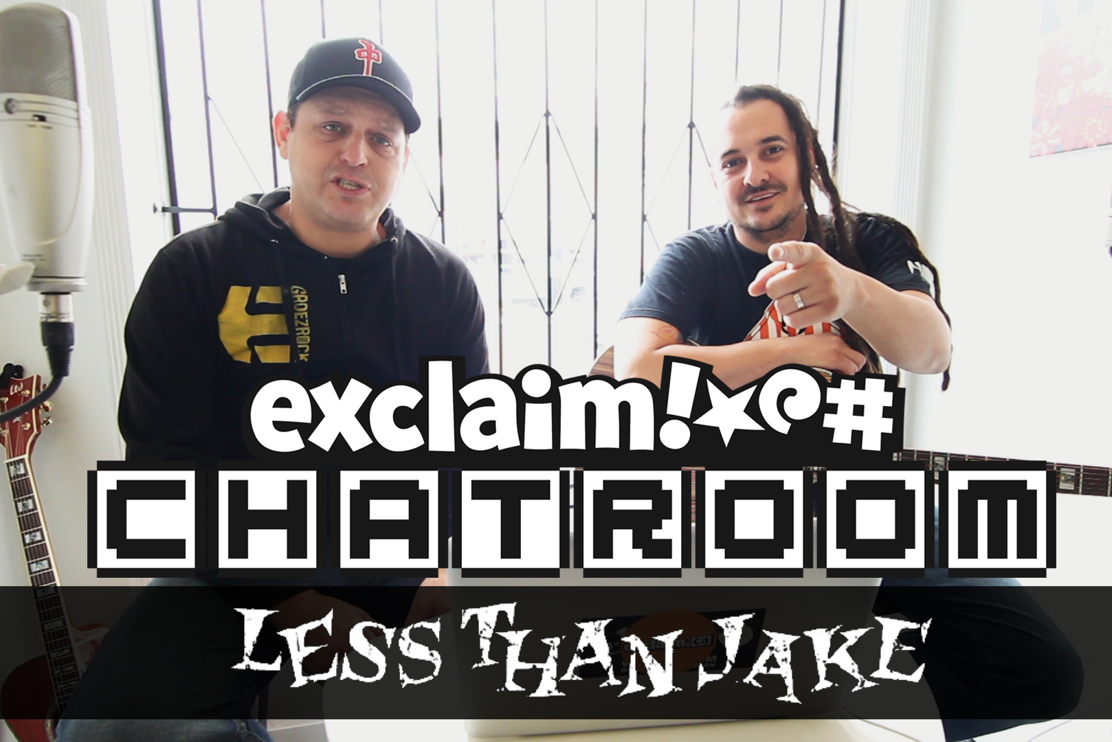 Less Than Jake on Exclaim! TV Chatroom