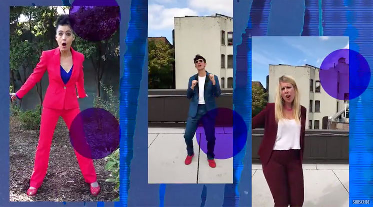 Le Tigre Return with Pro-Hillary Anthem 'I'm with Her'