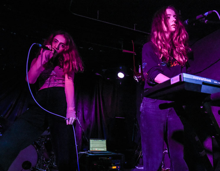 Let's Eat Grandma The Garrison, Toronto ON, September 7