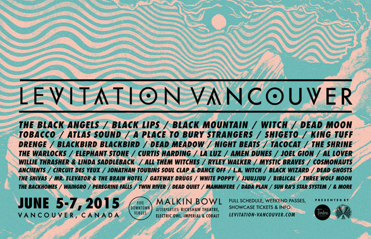 Levitation Vancouver Announces Second Wave of Acts
