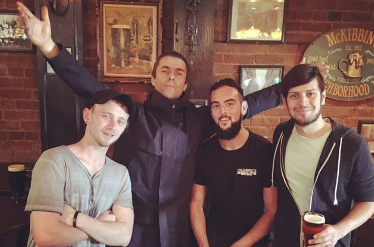 ​Liam Gallagher Played an Impromptu Set in a Montreal Pub