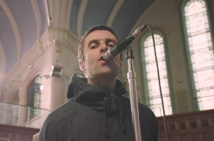 "Liam Gallagher ""Greedy Soul"" (live video)"