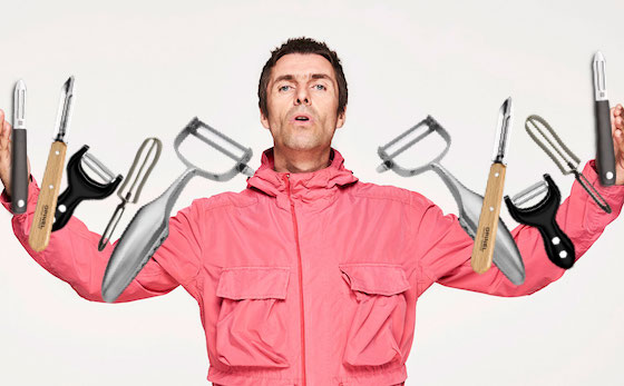 British Music Festival Forced to Ban Potato Peelers After Booking Liam Gallagher