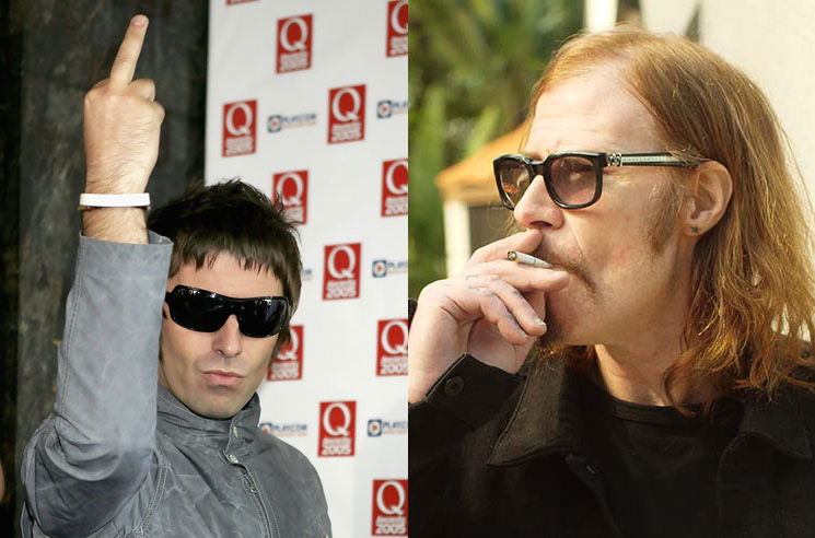 Liam Gallagher and Mark Lanegan Would Rather Fight on Twitter Than in Person
