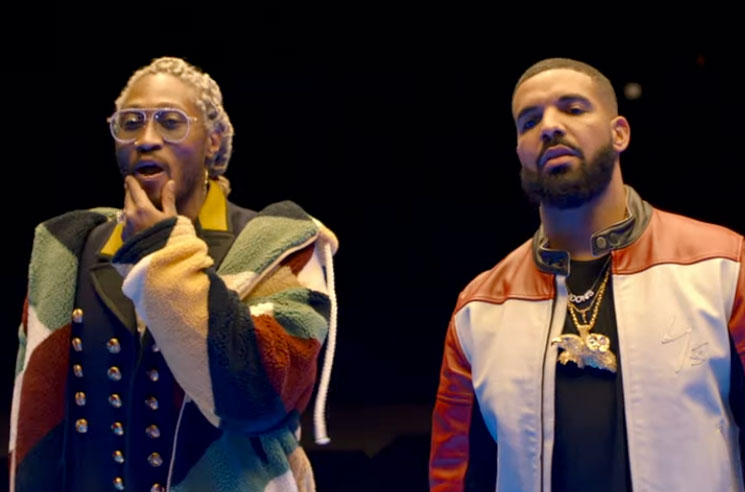 "Drake and Future Share ""Life Is Good"" Video"