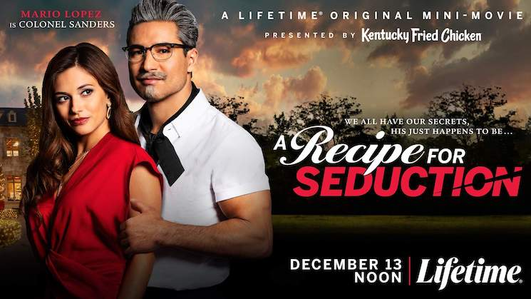 Mario Lopez Is Sexy Colonel Sanders in a New Lifetime KFC Movie