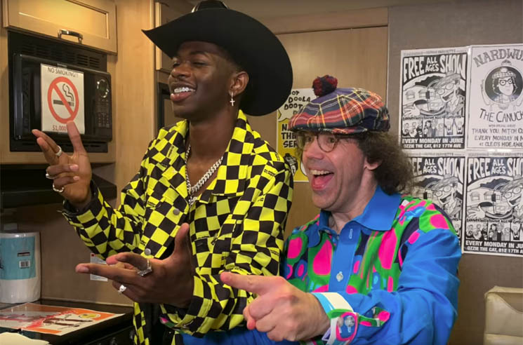 Watch Nardwuar Interview Lil Nas X at Rolling Loud