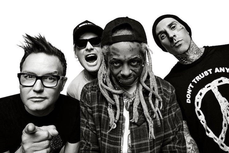 "Blink-182 Announce Joint Tour with Lil Wayne, Share Cringey ""What's My Age Again"" / ""A Milli"" Mashup"
