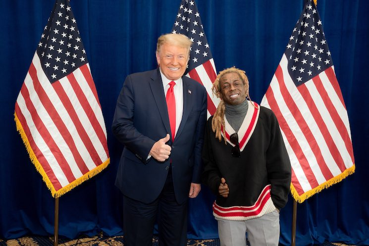 Donald Trump Pardoned Lil Wayne Before Leaving the White House