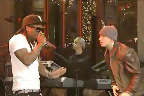 Eminem and Lil Wayne Live on <i>SNL</i>