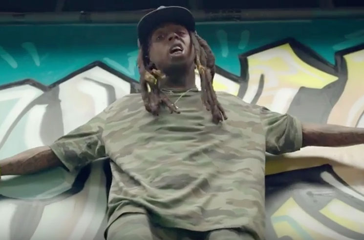 "Lil Wayne Bounces Back with ""Skate It Off"""