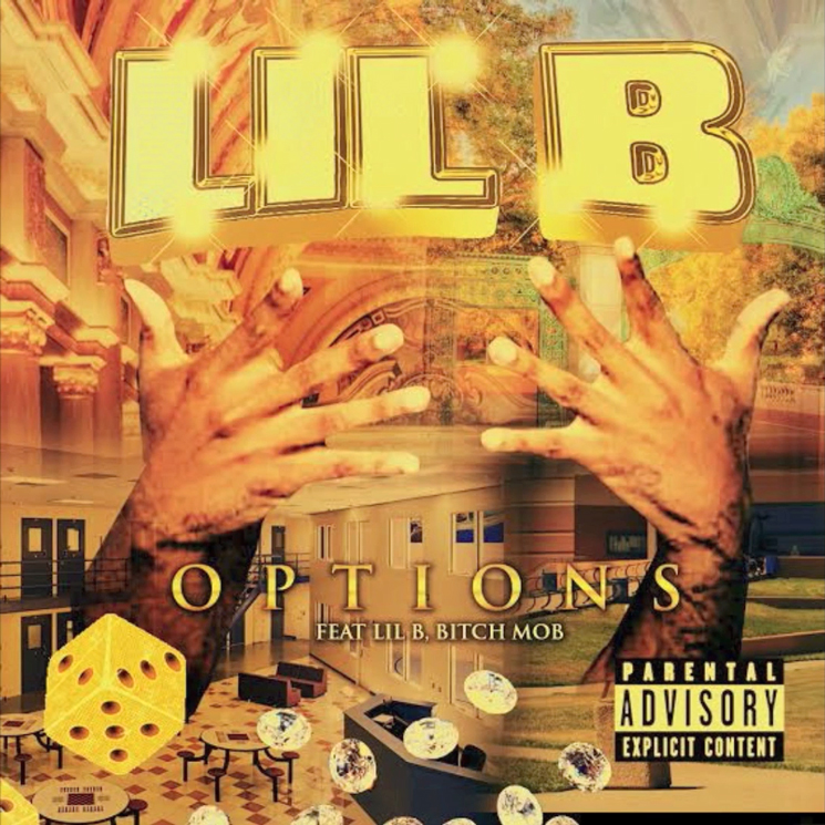 "Lil B Announces 'Options' Mixtape, Shares ""Money in My Spirit Ouu"""