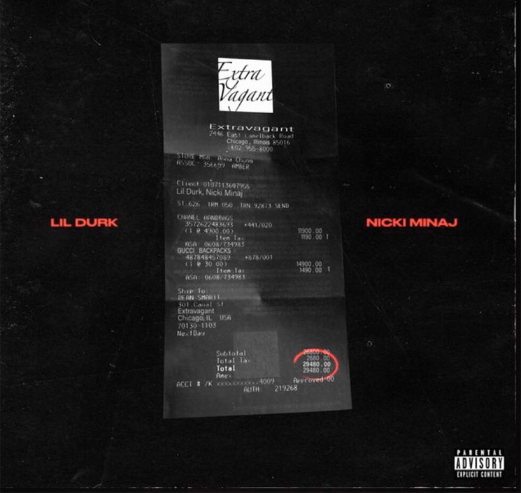 Nicki Minaj and Lil Durk Team Up on New Track 'Extravagant'