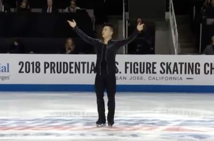 "Watch Jimmy Ma Figure Skate to Lil Jon and DJ Snake's ""Turn Down for What"""