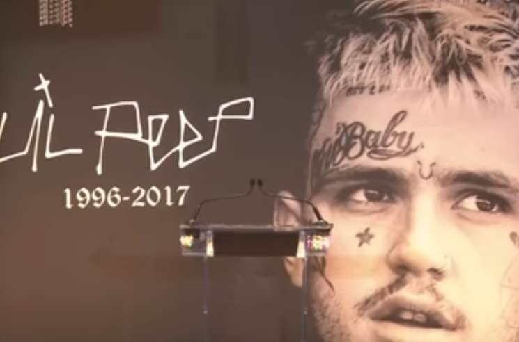 ​Watch Lil Peep's Memorial Service
