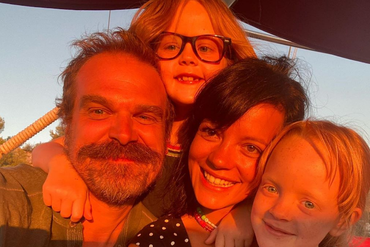 Lily Allen and 'Stranger Things' Star David Harbour Get Married in Las Vegas