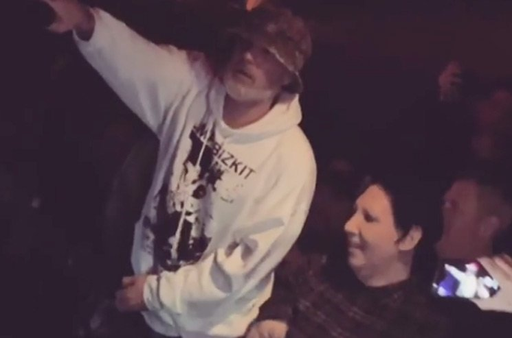Watch Limp Bizkit Reunite Their Original Lineup and Cover Nirvana with Marilyn Manson