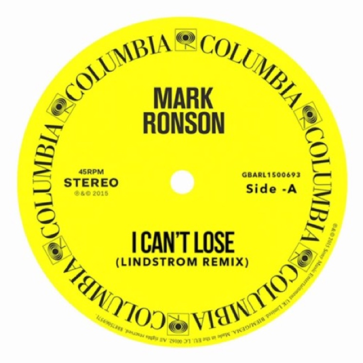 "Mark Ronson ""I Can't Lose"" (Lindstrøm remix)"