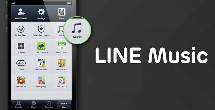 Japan's Line Messaging Service Gets into the Music Streaming Business