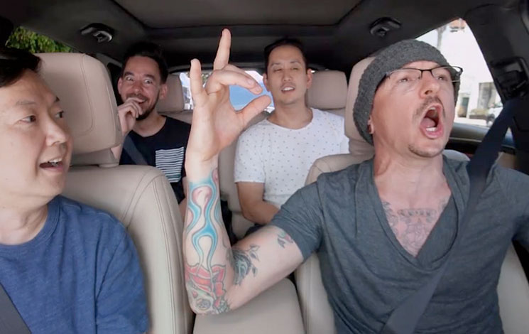 "Here's Linkin Park's ""Carpool Karaoke"" Episode"