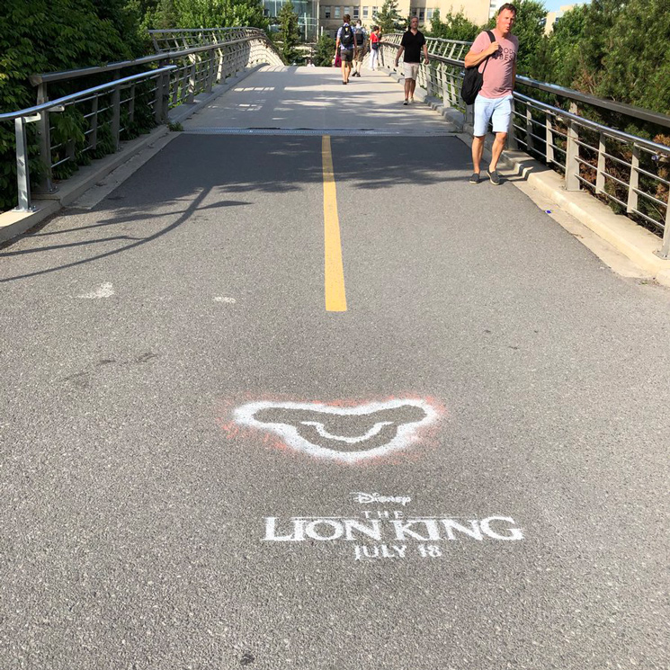 Ottawa Isn't Happy About These Spray Paint Ads for 'The Lion King'