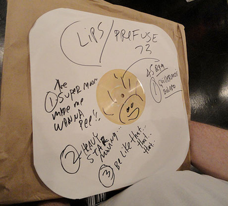 The Flaming Lips & Prefuse 73 Collaborative 12-Inch