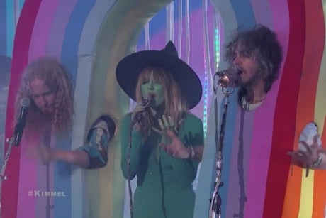 "The Flaming Lips ""With a Little Help from My Friends"" (live on 'Kimmel')"