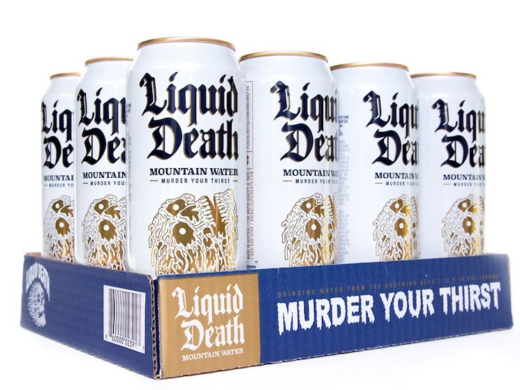 There's a New Straight Edge Water Company Called Liquid Death