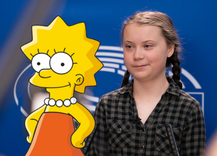 'The Simpsons' Predicted Greta Thunberg's Viral United Nations Climate Speech