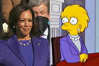 'The Simpsons' Predicted Kamala Harris' Inauguration Outfit
