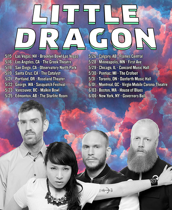 Little Dragon Map Out North American Spring Tour
