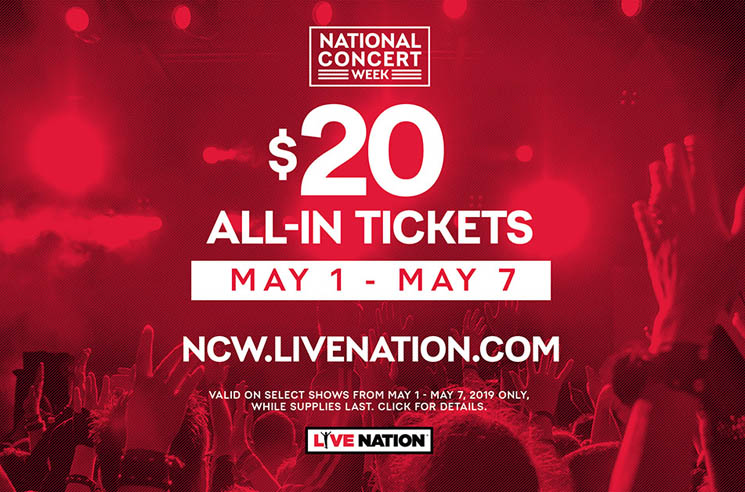 You Can Get $20 Tickets to Alexisonfire, Marilyn Manson, Smashing Pumpkins, Slayer as Part of National Concert Week