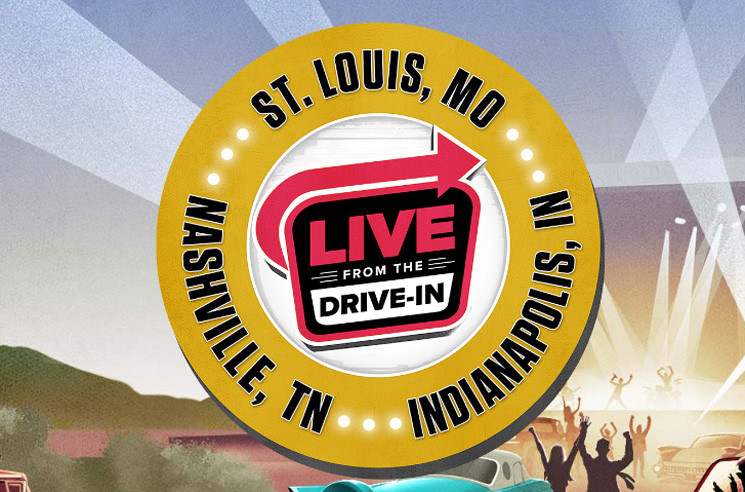 Live Nation Launches Drive-In Concert Series with Brad Paisley, Nelly