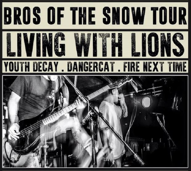 "Living with Lions Team Up with Youth Decay, Dangercat for ""Bros of the Snow Tour"""