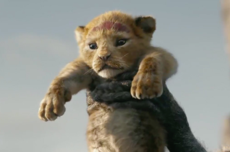 Here's Your First Look at Disney's Live Action Remake of 'The Lion King'