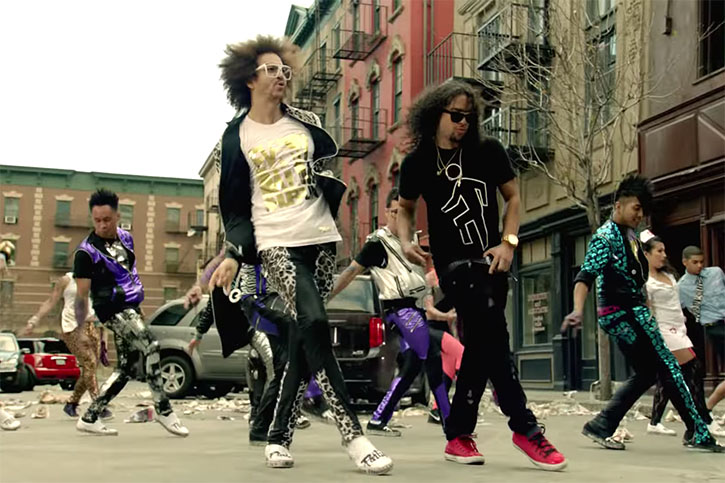 "Someone Mashed Up LMFAO's ""Party Rock Anthem"" with ""Uptown Girl"" and It's Amazing"