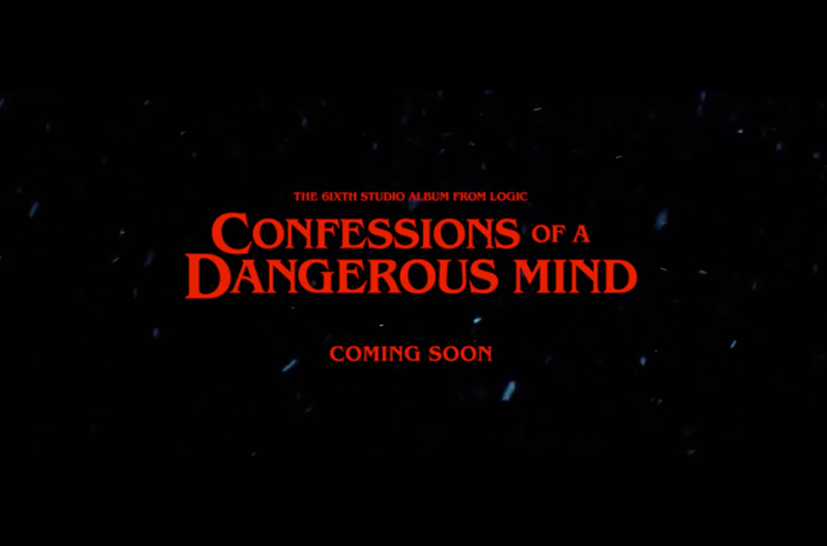 Logic Announces New Album 'Confessions of a Dangerous Mind'