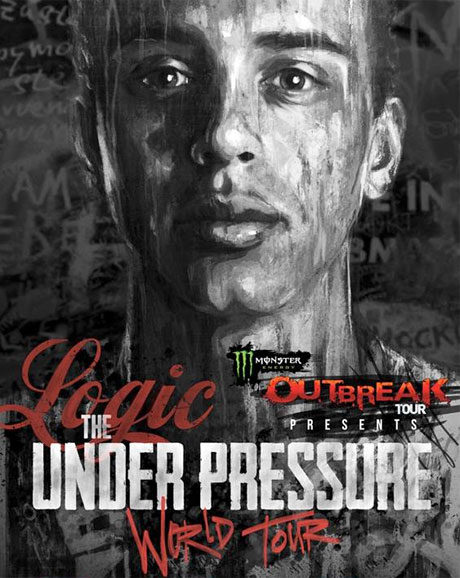 "Logic Announces ""Under Pressure World Tour"""