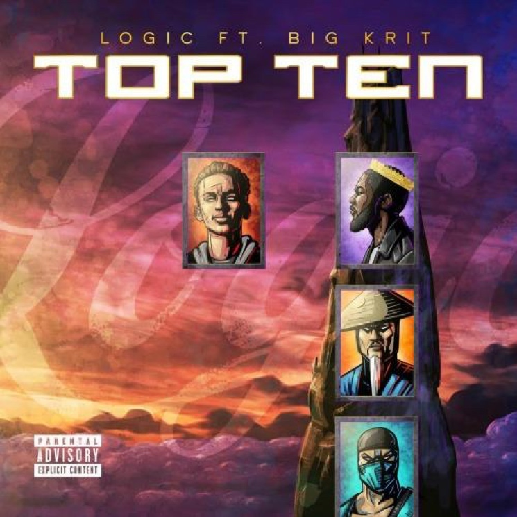 "Logic ""Top Ten"" (ft. Big K.R.I.T.)"