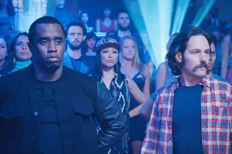 The Lonely Island 'Go Kindergarten' (ft. Robyn) (starring Sean Combs, Paul Rudd) (video)