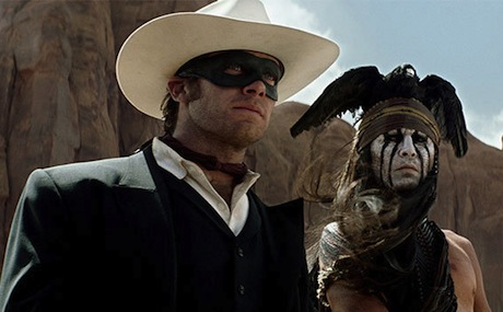 The Lone Ranger [Blu-Ray] Gore Verbinski